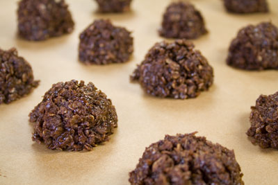 Chocolate & Coconut Clusters