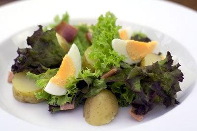 Egg, Bacon & New Potato Salad