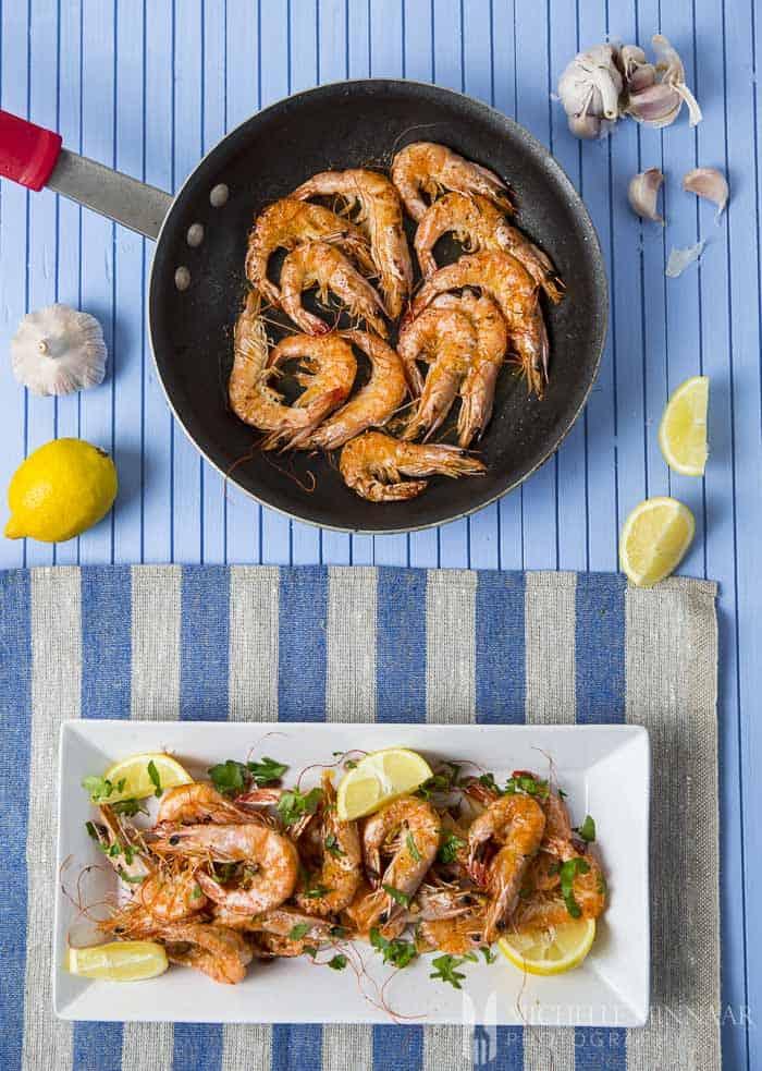 Shellfish lunch