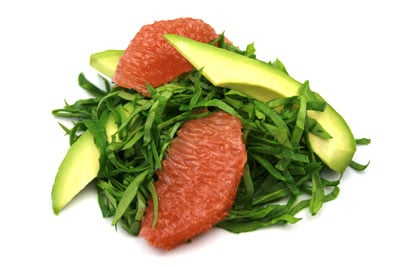 Avocado, Grapefruit & Spinach Salad