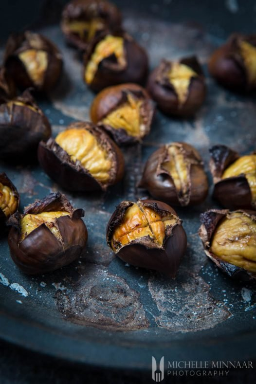 Chestnuts Roasted