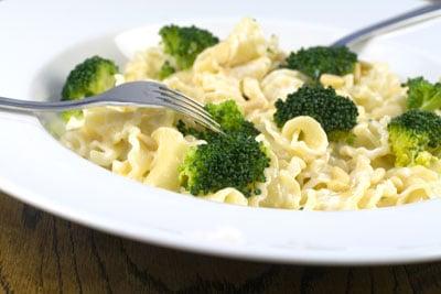 Broccoli, Pine Nuts & Mascarpone Pasta