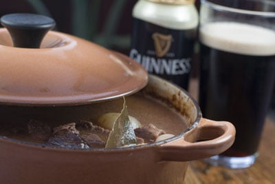 Beef, Prune & Guinness Stew