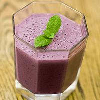 Blackberry & Yoghurt Smoothie