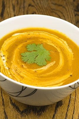 Kabocha Squash & Cumin Soup