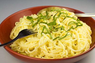 Creamy Pecorino & Lemon Pasta