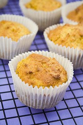 Pumpkin, Almond & Cinnamon Muffins