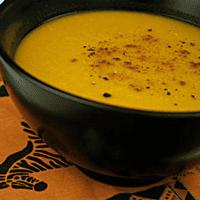 Kabocha Baked Squash Soup