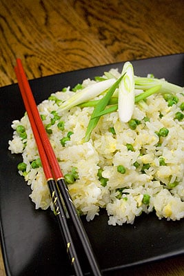 Pea & Egg Fried Rice