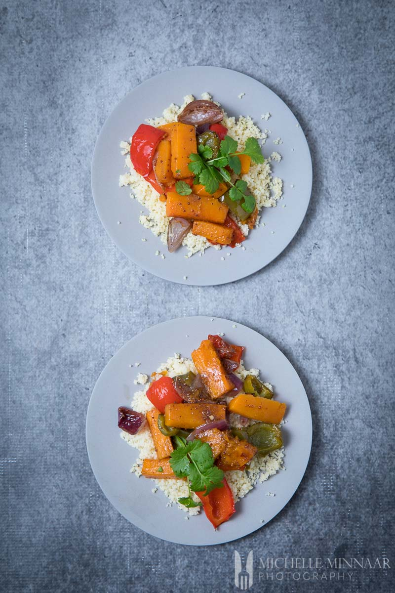 Couscous Roasted Vegetables