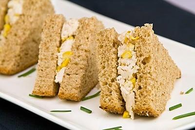 Chicken, Sweet Corn & Mayonnaise Sandwich