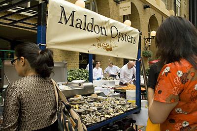 Maldon Oysters - London's Seafood Fair