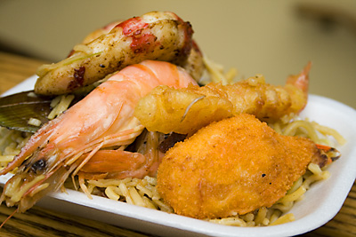 British Seafood Platter - London's Oyster & Seafood Festival