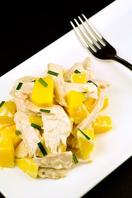 Smoked Chicken, Mango & Mayonnaise Salad