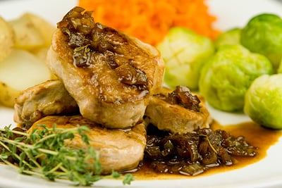 Pork Fillet with Orange & Sherry Sauce
