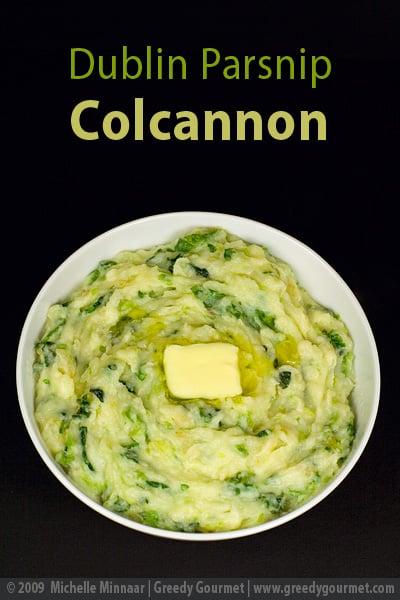 Dublin Parsnip Colcannon