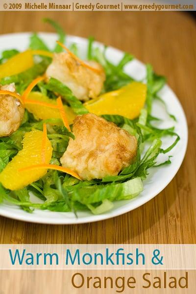 Monkfish & Orange Salad