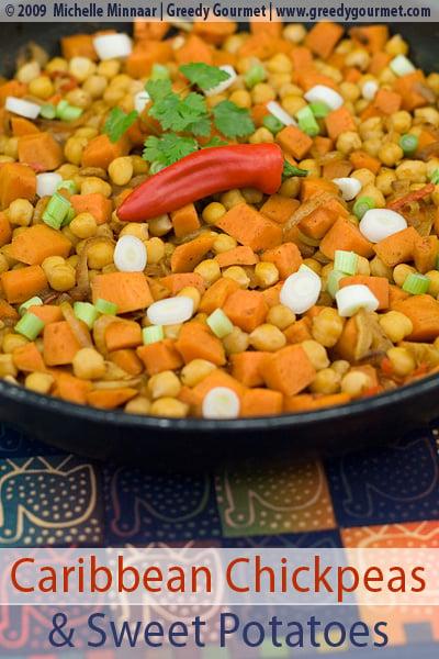 Caribbean Chickpea & Sweet Potato Casserole
