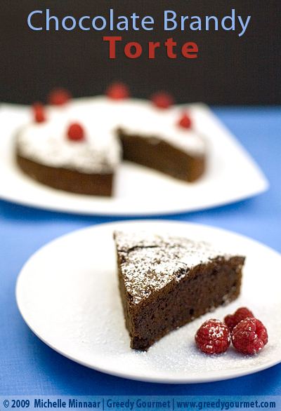 Chocolate Brandy Torte