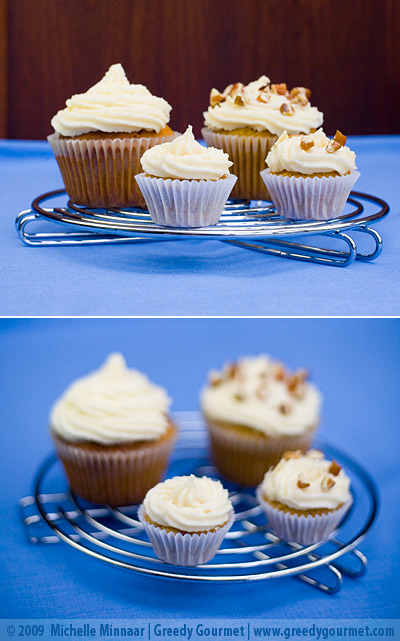 Carrot Cupcakes with Vanilla Buttercream