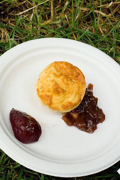 Twice Baked Goat's Cheese Soufflé by Fortnum & Mason