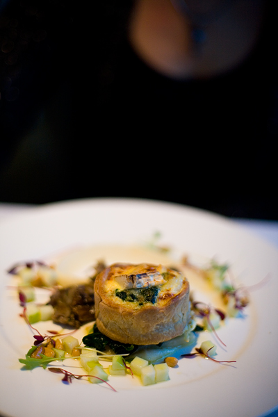 Jerusalem Artichoke & Spinach Tart