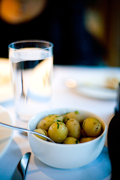 Minty Buttered New Potatoes