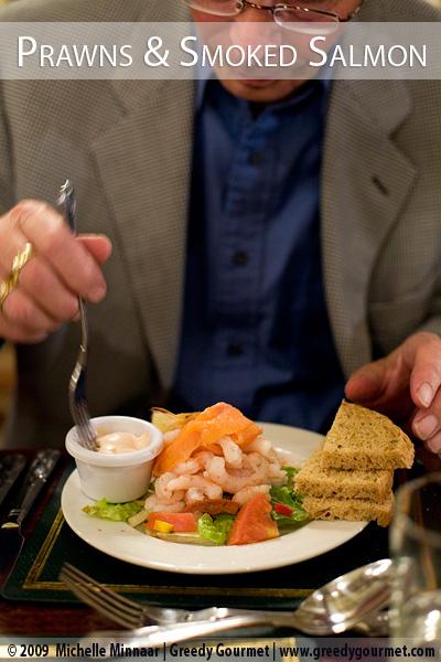 Prawn & Smoked Salmon Cocktail with Marie-Rose Sauce