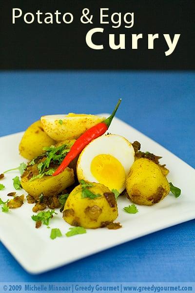 Potato & Egg Curry