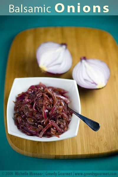 Balsamic Onions