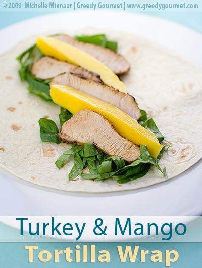 Cajun Turkey & Mango Tortilla Wraps