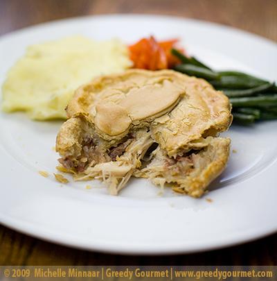 Abel & Cole's Chicken & Ham Pie