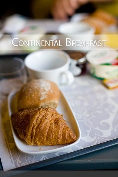 Eurostar Continental Breakfast