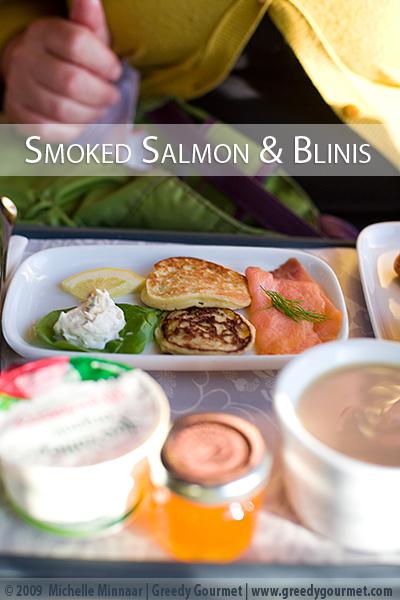 Smoked Salmon & Blinis
