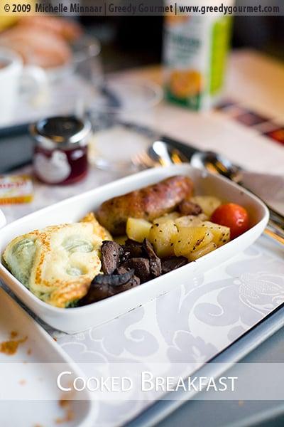 Eurostar's Cooked Breakfast