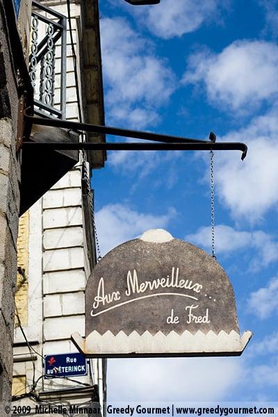 Aux Merveilleux de Fred in Lille