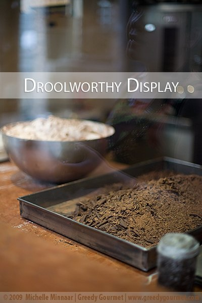 Chocolate & Meringue Display