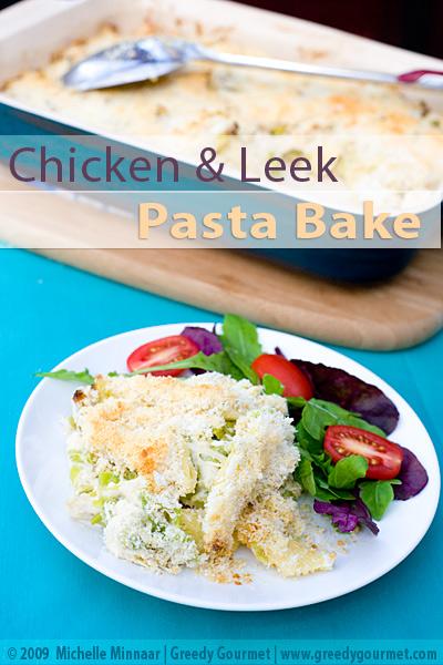 Chicken, Leek & Pasta Bake