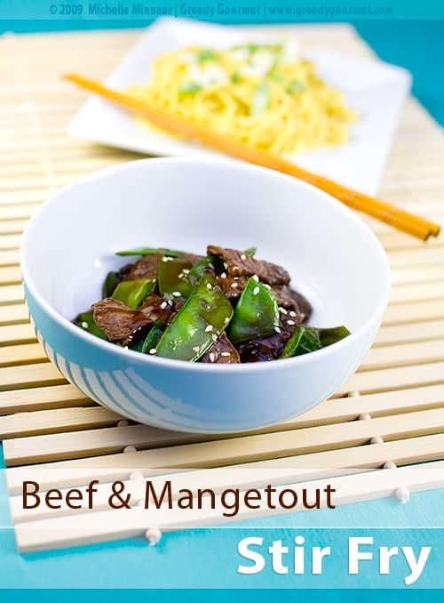 Beef & Snow Pea Stir-Fry