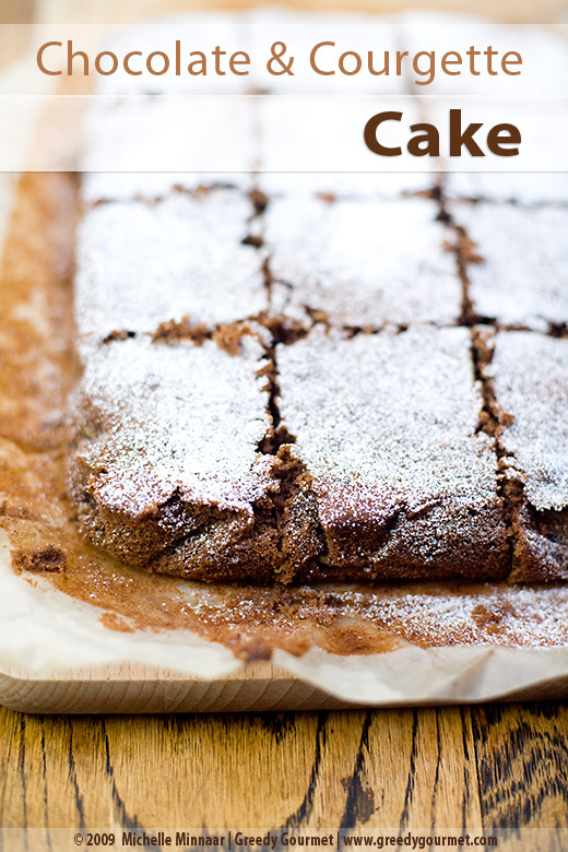 Chocolate & Courgette Cake