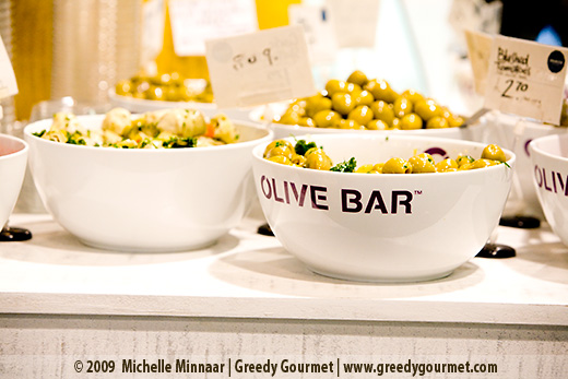 The Olive Bar at Sourced Market
