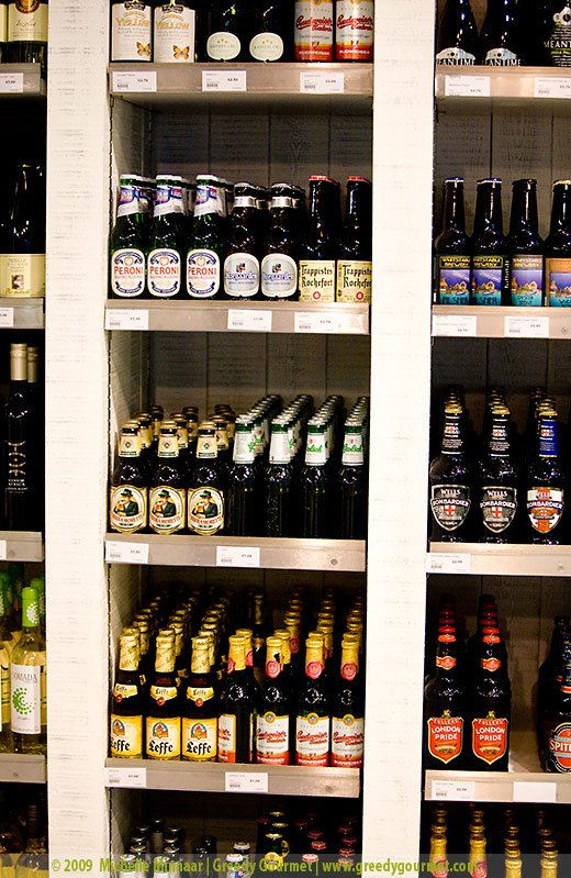 Organic Beers, Ciders and Wines at Sourced Market