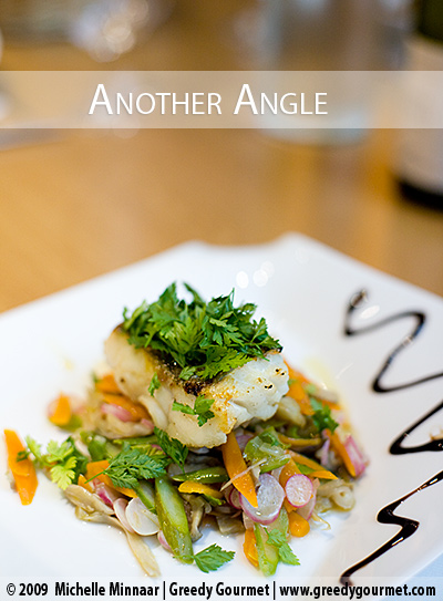 Honey Glazed Cod with Seasonal Vegetables
