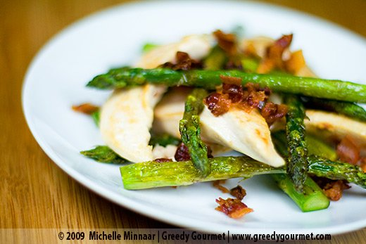 Chicken and Pancetta with Asparagus
