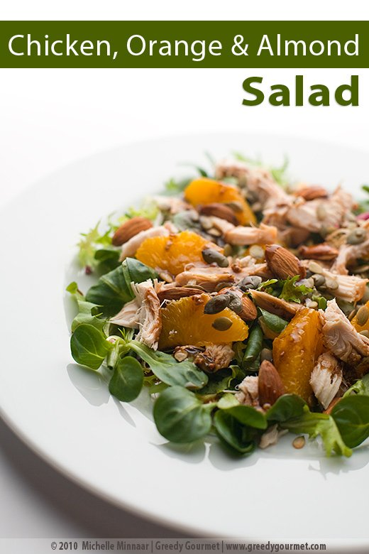 Chicken Salad With Orange And Almonds One Truly Healthy Lunch For Work