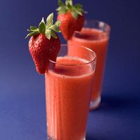 Orange & Strawberry Smoothie