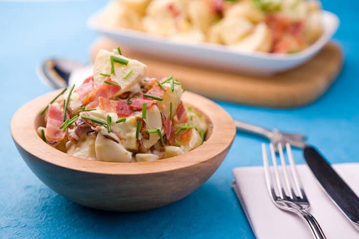 Caramelised Onion & Potato Salad