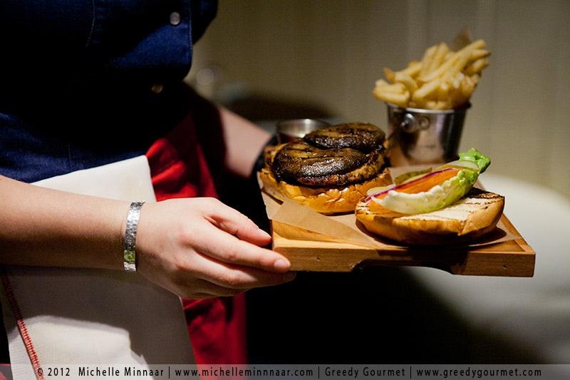 Blackened Chicken Fillet Burger & Fries