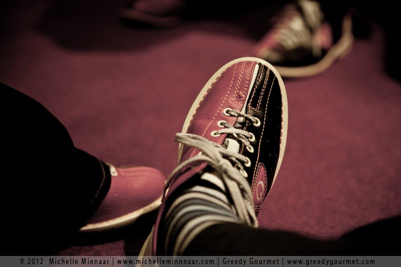 Rented Bowling Shoes at All Star Lanes, Westfield Stratford City
