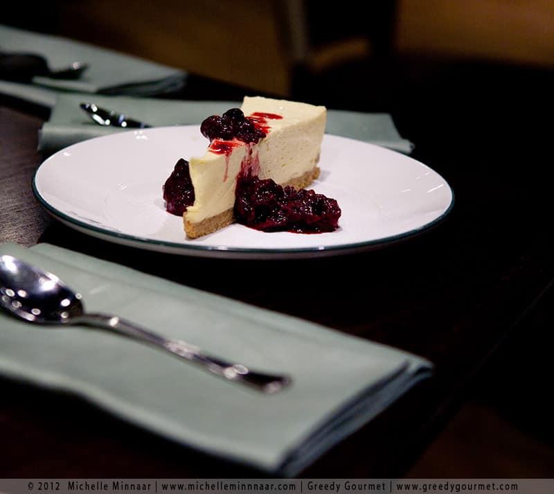 All Star Lanes' Homemade Cheesecake